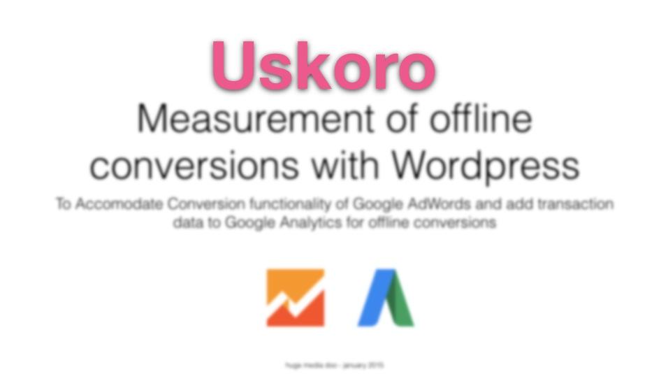 Offline konverzije za male prodavce zasnovano na WordPress platformi